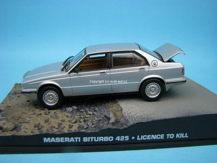 Maserati Biturbo 425 Licence To Kill James Bond 1:43 Universal Hobbies